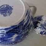 Burleigh Ware Blue Willow 6 Cup Teapot