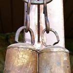 Antique Large Vintage Metal Cow Bells