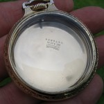 Hamilton Railroad Boc Pocket Watch Case Of Yellow Gold Filled
