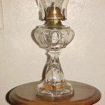 True Antique Queen Heart Oil Lamp