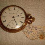 VINTAGE POCKET WATCH 1888  18S  ELGIN  15J  BW RAYMOND   GRADE 27  GF