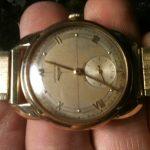 Vintage Longines 14 K mens watch