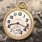 Rare Hamilton 23 Jewel 950 E Elinvar  Railroad Pocket Watch  No Reserve