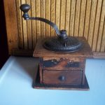 Antique Primitive Coffee Grinder Mill  Imperial Arcade Manufacturing Company