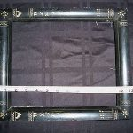 Antique East Lake Aesthetic Movement Victorian Ebonized Picture Frame