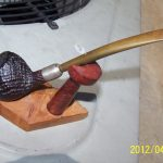 Antique Estate Pipe Dunhill's Shell Briar 17 AD Early 1900's Sweet