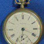 Circa 1904 Elgin Open Face Antique Pocket Watch 15j 18s 45mm