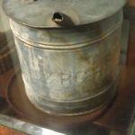 Antique old D&RG Railroad soldered oil can Denver & Rio Grande (not D&RGW)