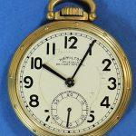 Circa 1951 Hamilton Railway Special 950B Open Face Pocket Watch 23j 16s 43mm