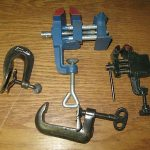 Antique / Vintage Misc. Vises & Clamps,Good Farm Tools