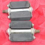 ANTIQUE TORRINGTON BICYCLE PEDALS # 11, MADE IN USA, SCHWINN AND OTHERS
