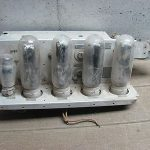 Vintage Antique US Army Signal Corps Radio BC375E Core for Parts, Pieces Tubes