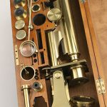Antique Microscope by Smith and Beck