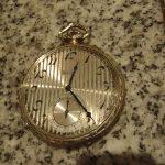 Great Vintage 14K Solid White Gold ELGIN Pocket Watch No Reserve