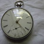 18S Joseph Johnson offset lever with fusee in sterling case