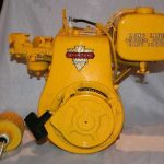 Clinton '61 Vintage Antique 3 1/4HP Engine   Model 9904125 21450 Kart Mini