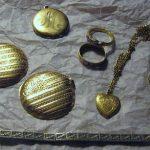 Lot Estate Pocket Watch Band Case Hadley Gold Fill Jewelry Rings Repair Scrap