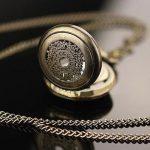 151%  FREE SHIP Bronze Antique Pocket Watch Necklace