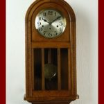 Beautiful Antique French Westminster chime wall clock at 1910