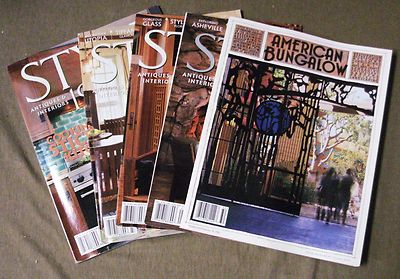 American Bungalow Winter '01 Style 1900 Antiques '04 4 iss Magazines Interiors