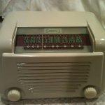 Antique Sonora vintage tube bakelite radio restored and working
