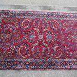 Beautiful Antique Red Persian Prayer Rug 29 1/2″ x 46″
