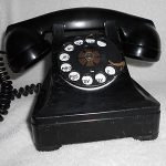 Western Electric Model 302 Telephone Phone Old Vintage Antique Desk Parts