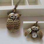 The owl pocket watch 2161