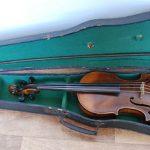 Antique violin J.F.Guidantus 1731 plus marked bow
