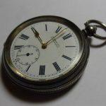 Antique Silver H.Samuel Key Wind Pocket Watch c1890's  No Reserve