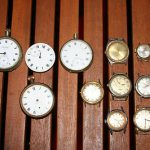 BULK LOT OF MOSTLY VINTAGE WATCHES INC 4 FOBS TIMEX/TIMOR AND MORE