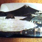 ANTIQUE JAPANESE SIGNED HAND CHASED STERLING SILVER NIELLO CIGATE CARD CASE