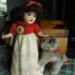 RARE  All Original Antique Shirley Temple as Snow White