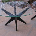 ONE Adrian Pearsall Craft Starburst Table MidCentury Danish Modern eames kagan