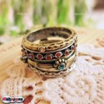 ro Vintage Antique National Gothic Style 4in1 Ring