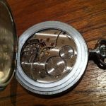 Antique Vintage Blind Mans Pocket Watch Cyma
