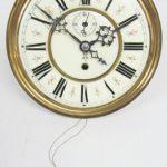 ANTIQUE GUSTAV BECKER 8DAY 1 WEIGHT VIENNA REGULATOR WALL CLOCK MOVEMENT 7″ DIAL