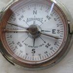 Vintage 1915 Short & Mason Aurapole Hunter's Case Pocket Compass