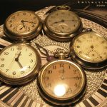 LOT OF 5  ANTIQUE POCKET  WATCHES3 WORKING