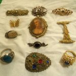 LARGE LOT OF VTG ANTIQUE AND MODERN JEWELRY OVER 15LBS STERLING OLD AN  GOLD