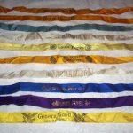 Vintage/Antique Lot Of 10 Cigar Felts/Silks