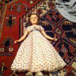 DEANNA DURBIN DOLL 21inch With Button Antique Doll