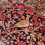 Authentic 19th Century Persian Prayer Rug  Lavar Kerman Beauty Excellent  MINT