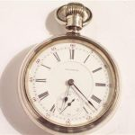 Waltham Pocketwatch 18 Size Crescent Street Model Year 1894  21 Jewels