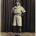 Antique Photo / Young Soldier Portrait / Japanese / c. 1940