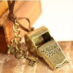 ro Style Whistle Modeling Pendants Necklace