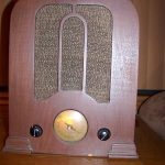 ANTIQUE GRUNOW WORKING RADIO