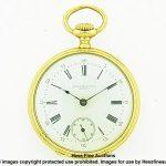 Antique 3x Signed Patek Philippe 18k Gold Ladies Pocket Watch