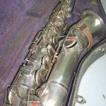 Antique Buescher True Tone Low Pitch Saxophone S/n 53923 W/ Case