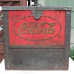 Antique Glascock COCACOLA COUNTER COOLER  Rare general store gas station Old